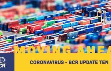 CORONAVIRUS – BCR UPDATE TEN (25 March 2020)