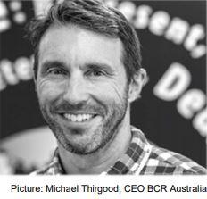 Michael Thirgood, CEO BCR Australia